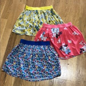 3 Old Navy Skirts, size 8
